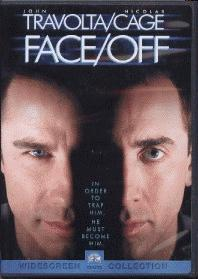 Face Off DVD - High drama & action movie with great acting by John Travolta and Nicholas Cage